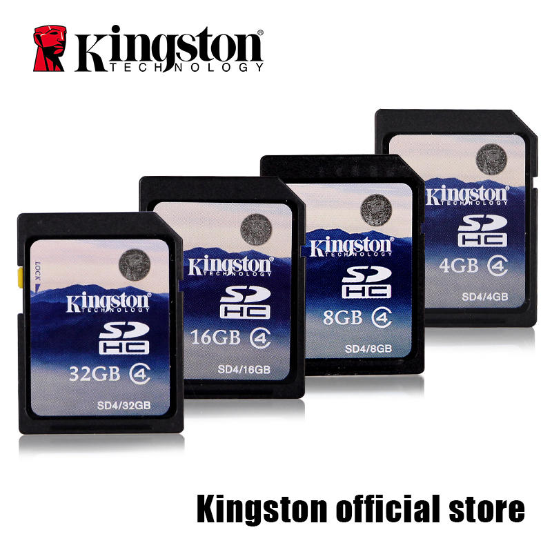 Kingston SD kart Kamera kart SDHC Class 4 Kart SD4-8 GB/16 GB